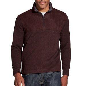 Men's quarter zip sweater